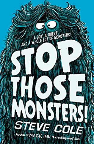 book cover of Stop Those Monsters!