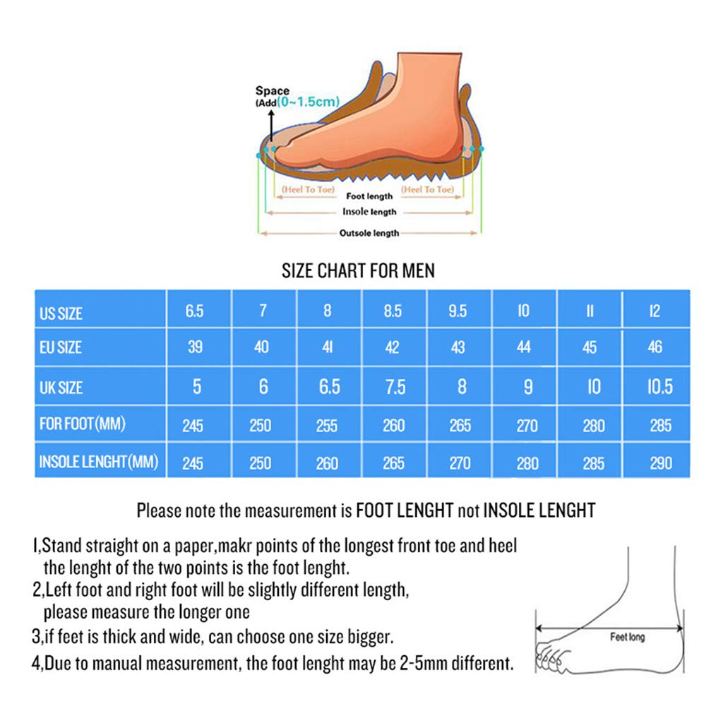 ENLEN/&BENNA Men/'s Casual Leather Hiking Boots Winter Warm/ Waterproof Ankle Dress Boots Lightweight Anti-Slip Combat Walking Martin Boots Breathable