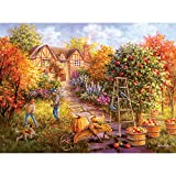 Bits and Pieces - 500 Piece Jigsaw Puzzle for Adults - Gathering Fall - 500 pc Apple Picking Jigsaw by Artist Nicky Boehme