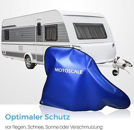 Motoscale Deichselhaube Für Wohnwagen Und Anhänger Aus Hochwertiger Lkw Plane Deichselschutz Anhängerkupplung Abdeckung Made In Germany Auto