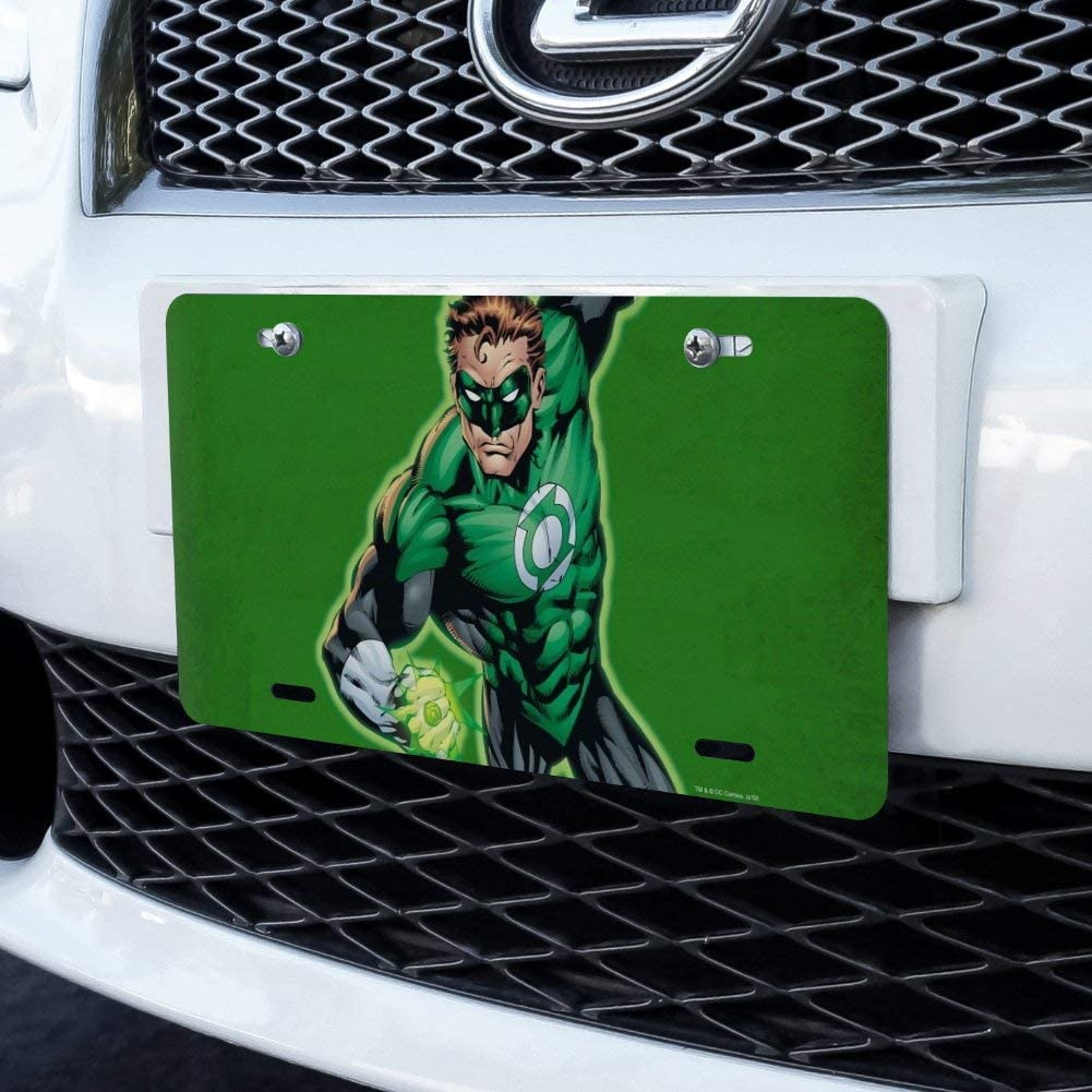 Graphics and More Green Lantern Character Novelty Metal Vanity Tag License Plate