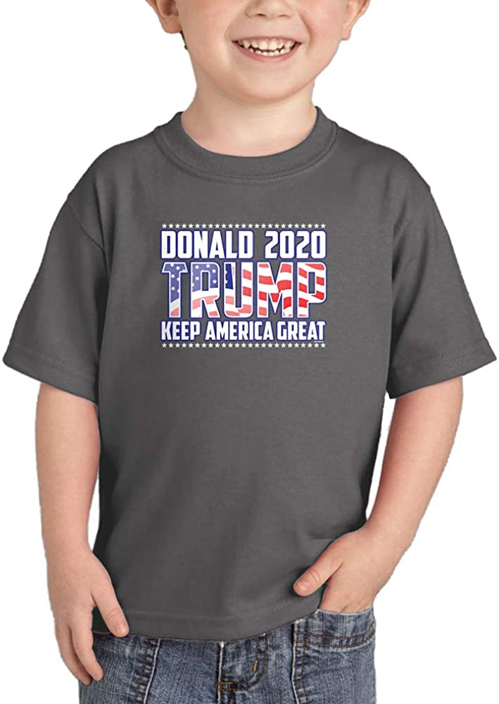 Keep America Great Infant//Toddler Cotton Jersey T-Shirt Donald Trump 2020