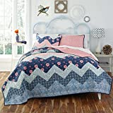 KD Spain Camilla Quilt Sham Set, Blue, King