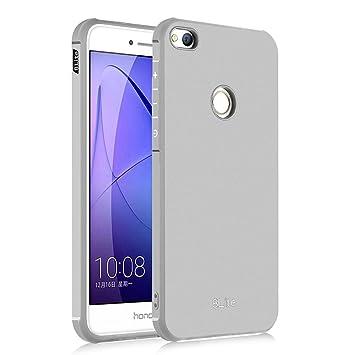 Hevaka Blade Huawei P8 Lite 2017 Funda - Suave Silicona TPU Carcasa Smart Case Cover Para Huawei P8 Lite 2017 - Gris