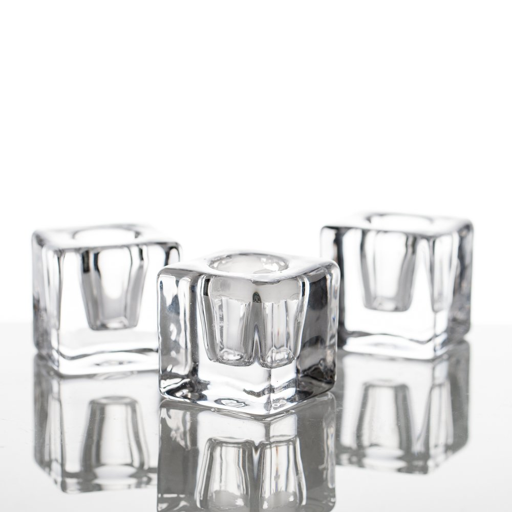 Richland Square Glass Taper Candle Holder Set of 72 by Richland (Image #1)