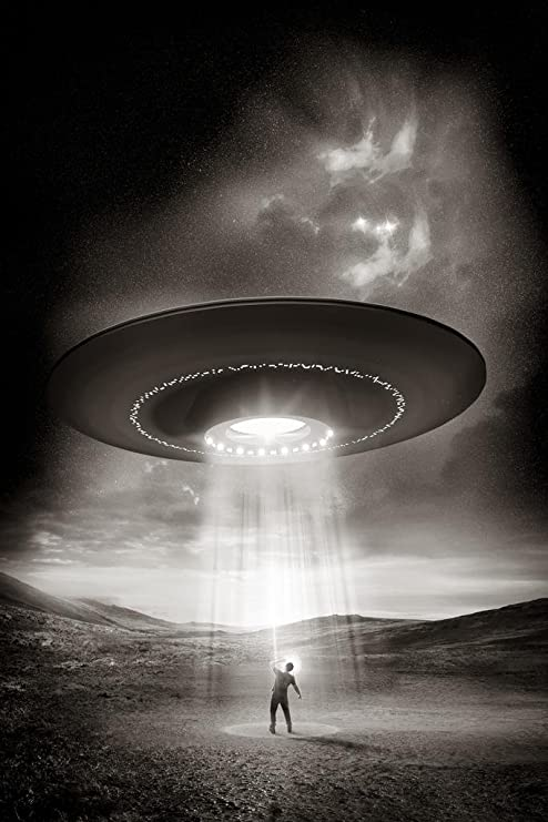 Amazon.com: Out There Human Being Abducted by Aliens Space Saucer ...