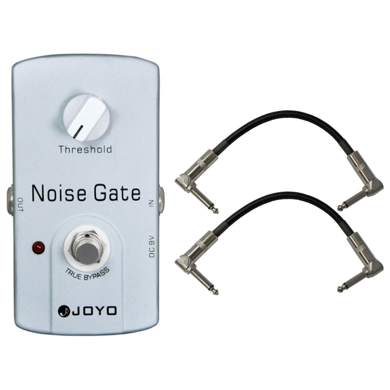 Joyo JF-31 Noise Gate Pedal US Dealer w/ 2 Patch Cables by Joyo Audio