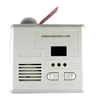 Universal Security Instruments CD-9690 3-LED Plug-in Carbon Monoxide Alarm with Digital Display and Peak CO Level Memory