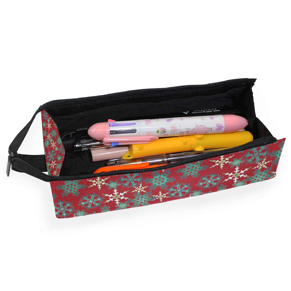 Starry Night Milky Way Long Exposure Rock Glasses Case Portable Soft Sunglasses Pen Bag Protective Box