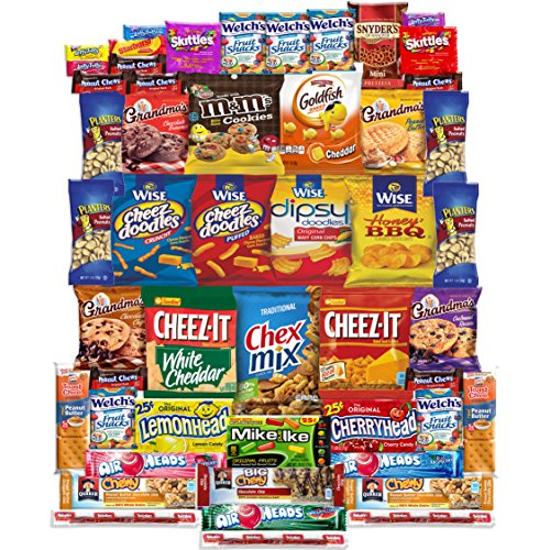 Snacks Care Package Gift Assortment (50 Count) (Brownie Points Popcorn compare prices)