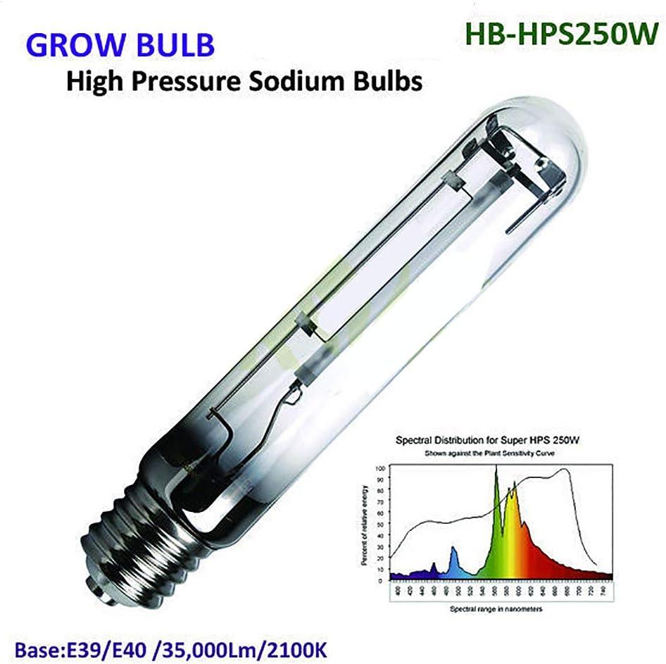 250W HPS Crece Luces, Alta Presión Lámparas De Sodio, Crecer Luces para Las Plantas