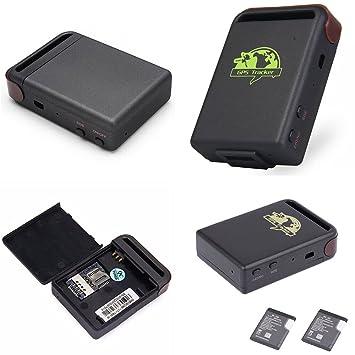 Localizador satélite Antirrobo GPS gsm GPRS GPS Tracker Bolsillo Coche casa