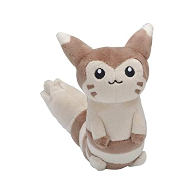 Pokémon Furret Sitting Cuties Plush - 6 ½ in.: Toys & Games