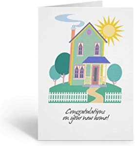 Congratulations on Your New Home Card Pack - 18 5x7 Cards & Envelopes