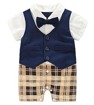 c9a8449eb1129  RADISSY  ベビー 男の子 フォーマル カバーオール スーツ 蝶ネクタイ 半袖 かっこいい (80cm