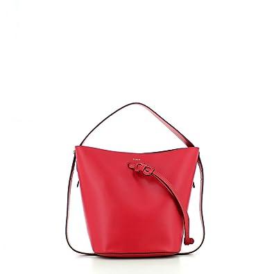da5983468a99 Amazon.com  Furla Women s Vittoria Small Drawstring Bag
