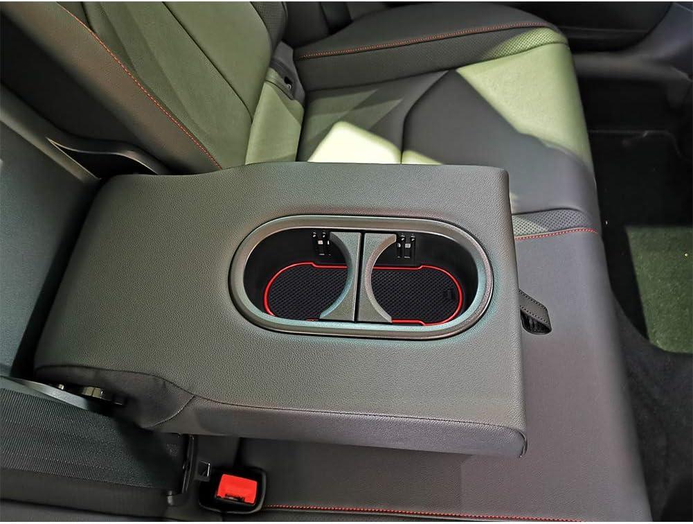 YEE PIN Tapis de Sol en Caoutchouc pour Seat Leon Cupra 5F Accessoires int/érieurs antid/érapants pour Console Centrale