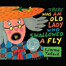 There Was an Old Lady Who Swallowed a Fly Audiobook by Simms Taback Narrated by Stuart Blinder