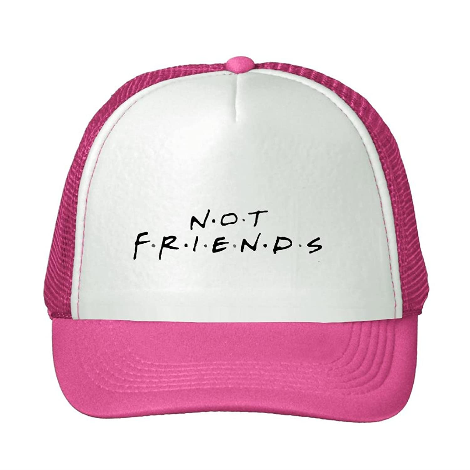 Shel Adult Or Youth Not Friends Logo Baseball Cap Snapback Hat Summer Hat