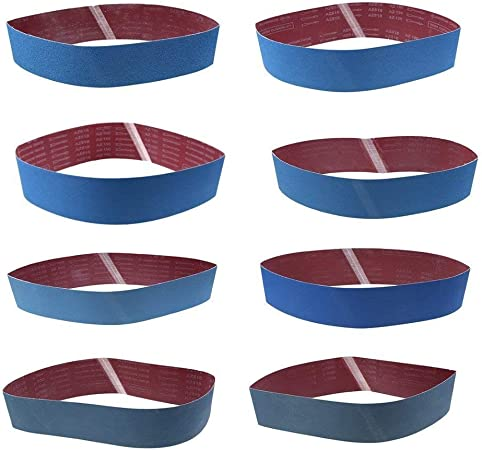 Utile Bandes abrasives 3pcs 915X100mm Bandes abrasives abrasives de 120 grains