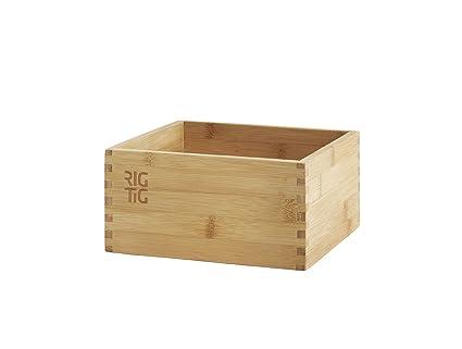 RIG-TIG - Caja de almacenaje (madera de bambú)