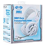 E-Blue Cobra Series Professional Gaming Headset, (White)