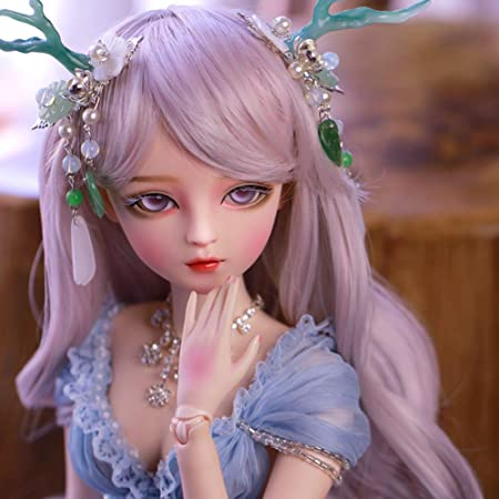 60cm BJD Doll 1//3 Ball Jointed Girl Dolls With Clothes Wigs Shoes Gift Full Set