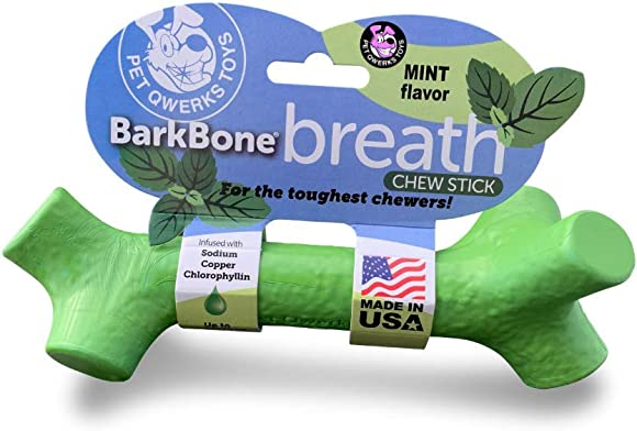 Pet Qwerks BarkBone Stick – For Aggressive Chewers