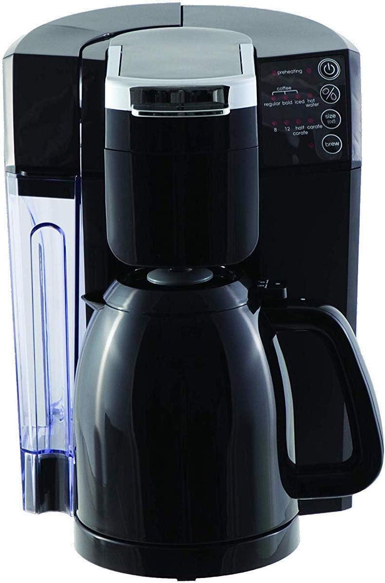 NuWave 45001 Single Serve Coffee Maker Bruhub 3-in-1, 50 oz, Black