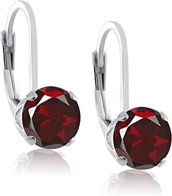 Red Dyed Ruby Sterling Silver Overlay 4 Grams Stud//Earring 10 mm Girls Jewelry