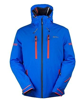 Sph sportsphere Aksel, Chaqueta de esquí para Hombre Azzurro/Arancio Fluo 54: Amazon.es: Ropa y accesorios