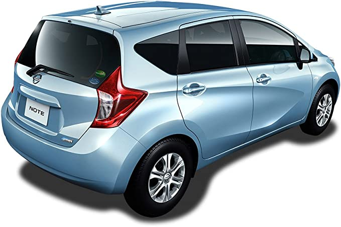 Antena aérea aleta de tiburón am/fm para Nissan, color gris metalizado código KAD