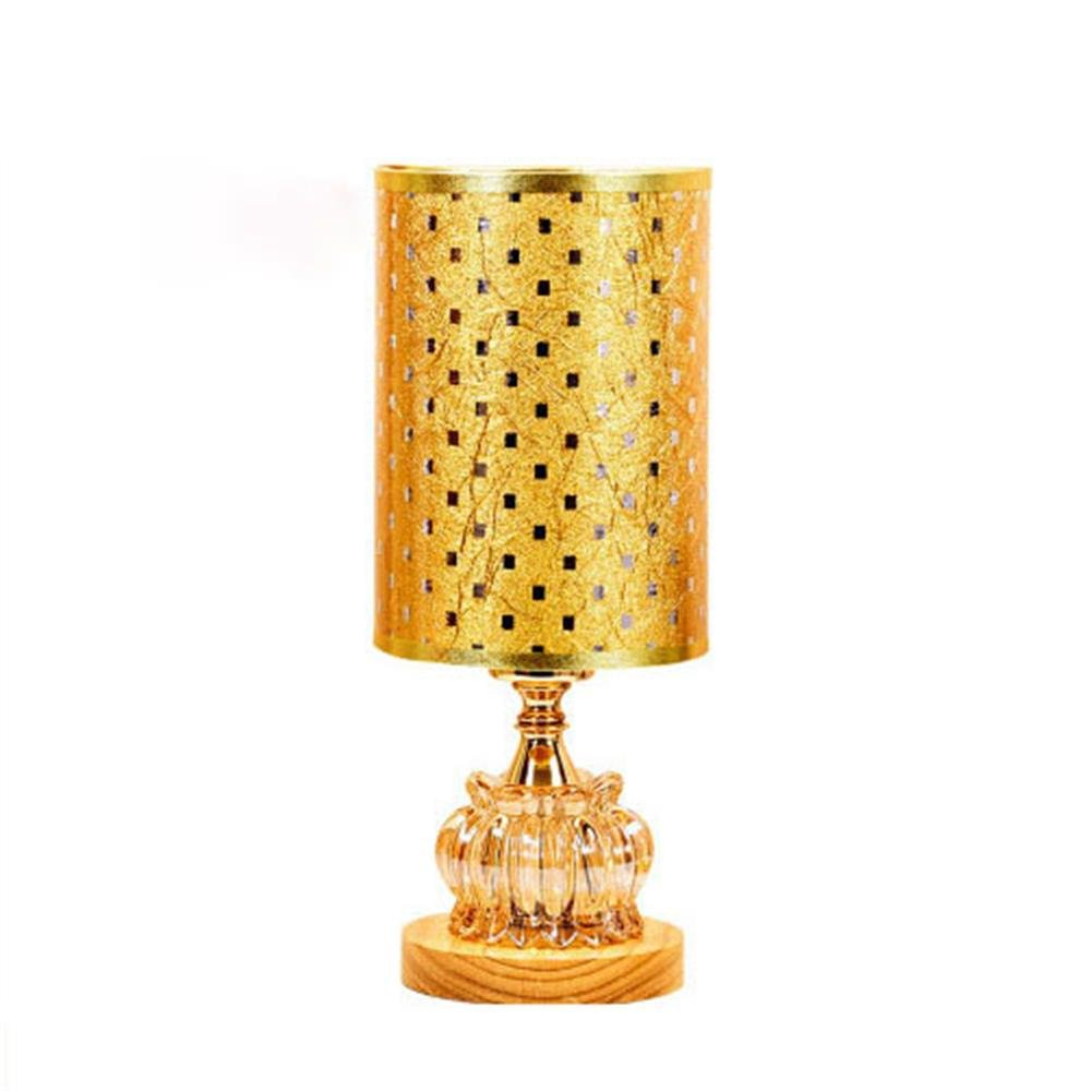 XiuXiu Moderne Europäische Tischlampe Kristall Kristall Kristall Tischlampe Glas Lampe Einfache Modische Tischlampe Zylinder Lampe (Farbe   B) B07HMW443R | Diversified In Packaging  feece2