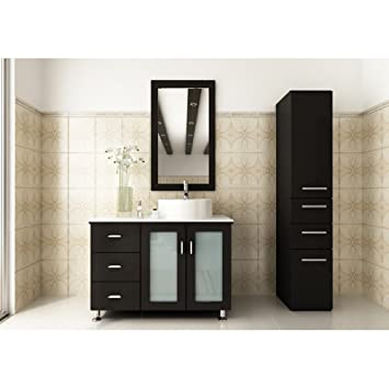 Lovely Rent A Bathroom Perth Big Cleaning Bathroom With Bleach And Water Square Choice Bathroom Shop Uk Master Bath Remodel Plans Young Bathroom Modern Ideas Photos YellowBathroom Door Latch India Amazon.com: JWH Living Lune 39 In. Single Bathroom Vanity: Home ..