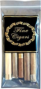Prestige Import Group - Zip Seal Top Lock Cigar Bags - 500 Pack - Fine Cigars Insigna