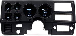 Dakota Digital 73-87 GM Truck/87-91 Suburban/Blazer VFD gauge system w/Blue and Teal Lenses