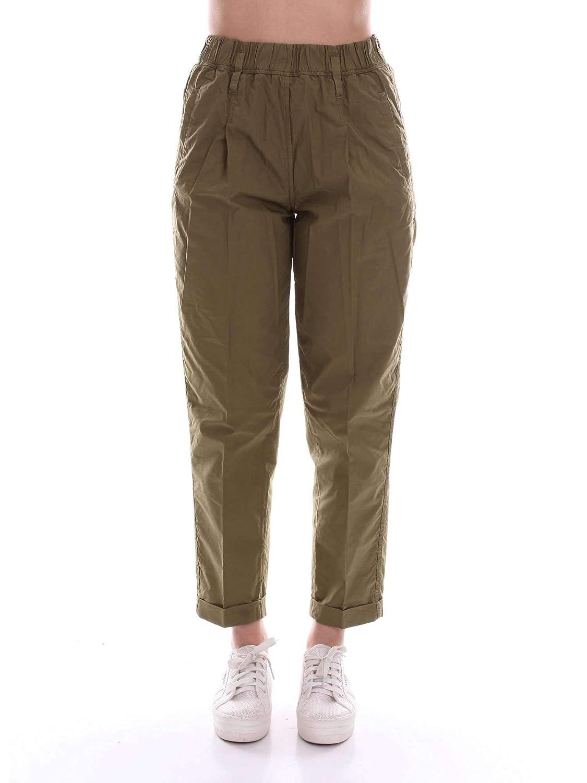 Brand Size L FORTE FORTE Women's 5418greenMILITARE Green Cotton Pants