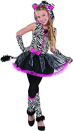 PINK BLACK PURPLE GLITTER ZEBRA ANIMAL PRINT WINGS /& WAND FANCY DRESS UP SET