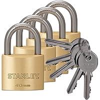 Stanley S742-038 candados macizos de con arco estándar