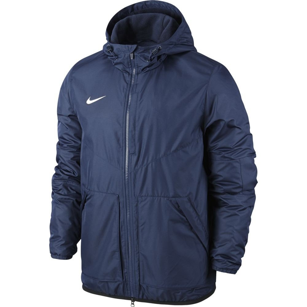 Obsidian//Dark Obsidian//White Nike YthS Team Fall Jacket