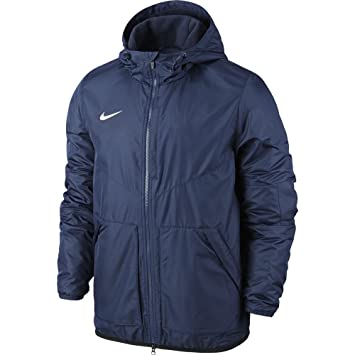 Nike Yth'S Team Fall Jacket ObsidianDark ObsidianWhite