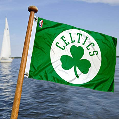 Boston Celtics bandera de barco y carro de golf: Amazon.es ...