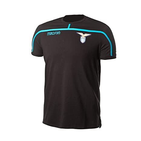 Macron Camiseta Lazio 2018-2019 Black-Light Blue: Amazon.es: Deportes y aire libre
