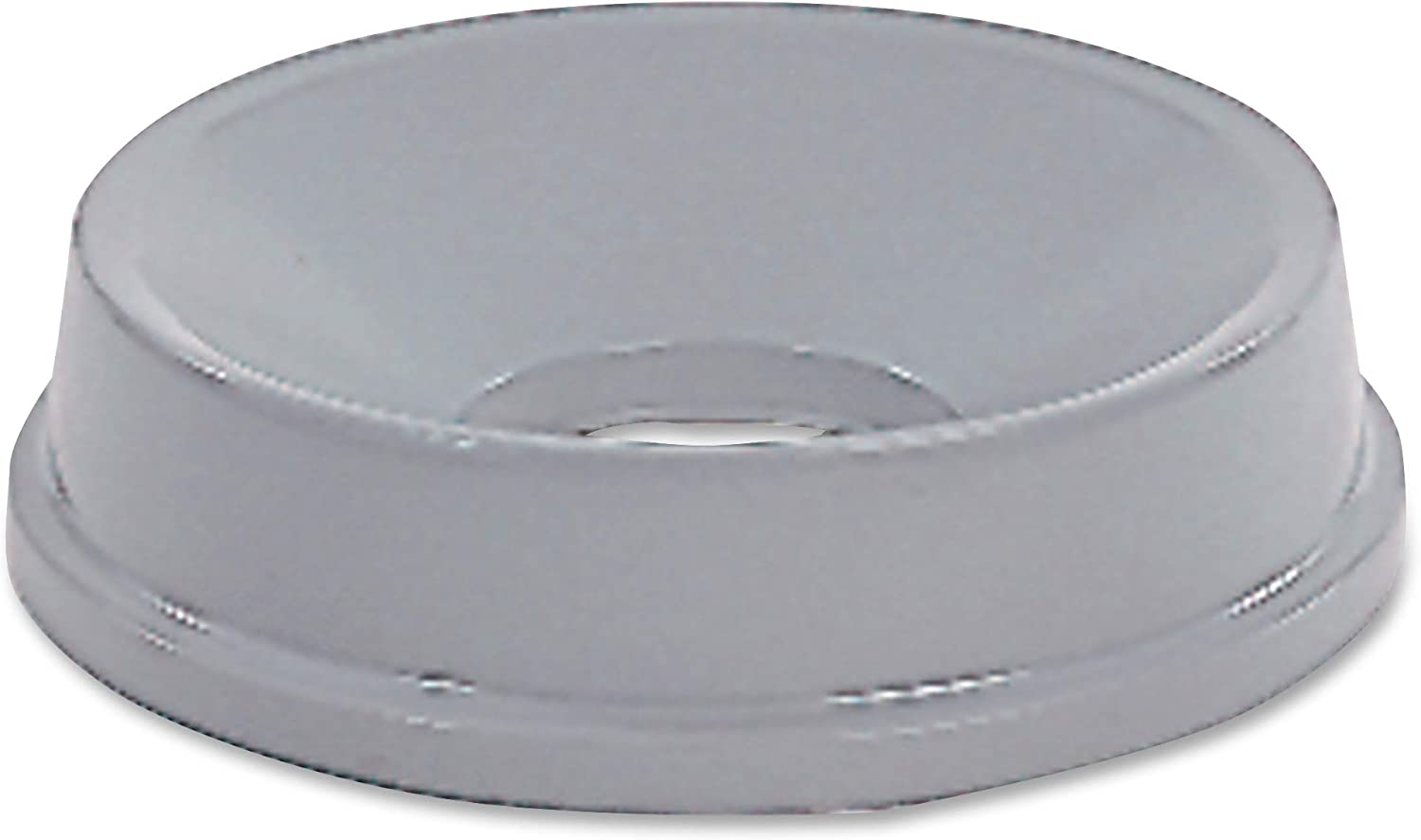 Rubbermaid Commercial FG354800GRAY HDPE Untouchable Funnel Top for 2947 and 3546 Containers, Gray