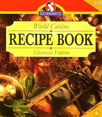 Schwartz world cuisine recipe book amazon software schwartz world cuisine recipe book forumfinder Images