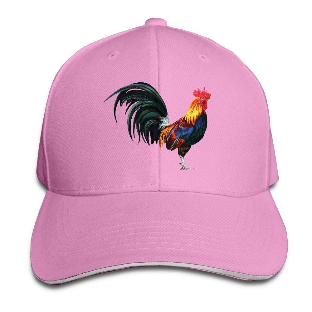 Amazon.com  Safan532 The Lifelike Rooster Funny Logo Fashion Unisex  Unstructured Cotton Cap Adjustable Baseball Hat Caps Ash  Clothing 85fd3f186103