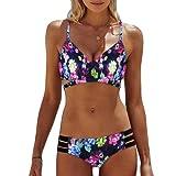 Bikinis Mujer,Dragon868 2018 Bohemia de las mujeres empujar hasta Bra playa usar bikinis para jovencitas
