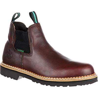 Georgia Boot Men's Georgia Giant High Romeo GR500 Work Boot | Chelsea