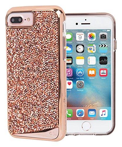 Case-Mate CM034774X Brilliance Case for iPhone [7 Plus] [6s Plus] [6 Plus] Rose Gold - Retail Packaging