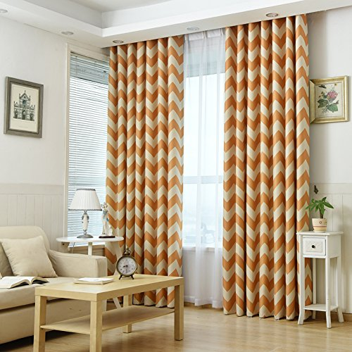 Semi-Blackout Curtain Grommet Decorative Window Curtain for Children's Study Room Boys Girls Kids Bedroom by SearchI